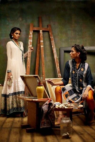 Artistic Eid Dresses for Girls