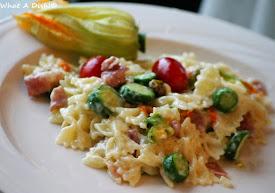 Zucchini & Speck Bowties