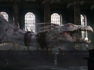 The Gringott's dragon from Harry Potter and the Deathly Hallows