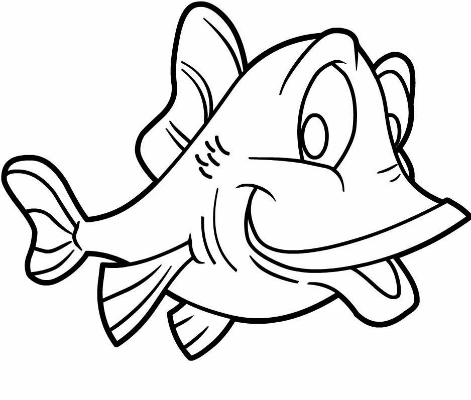 Colours drawing wallpaper fish cartoone colour drawing hd for Fish cartoon coloring pages