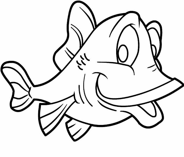 Colours drawing wallpaper fish cartoone colour drawing hd for Cartoon fish drawing