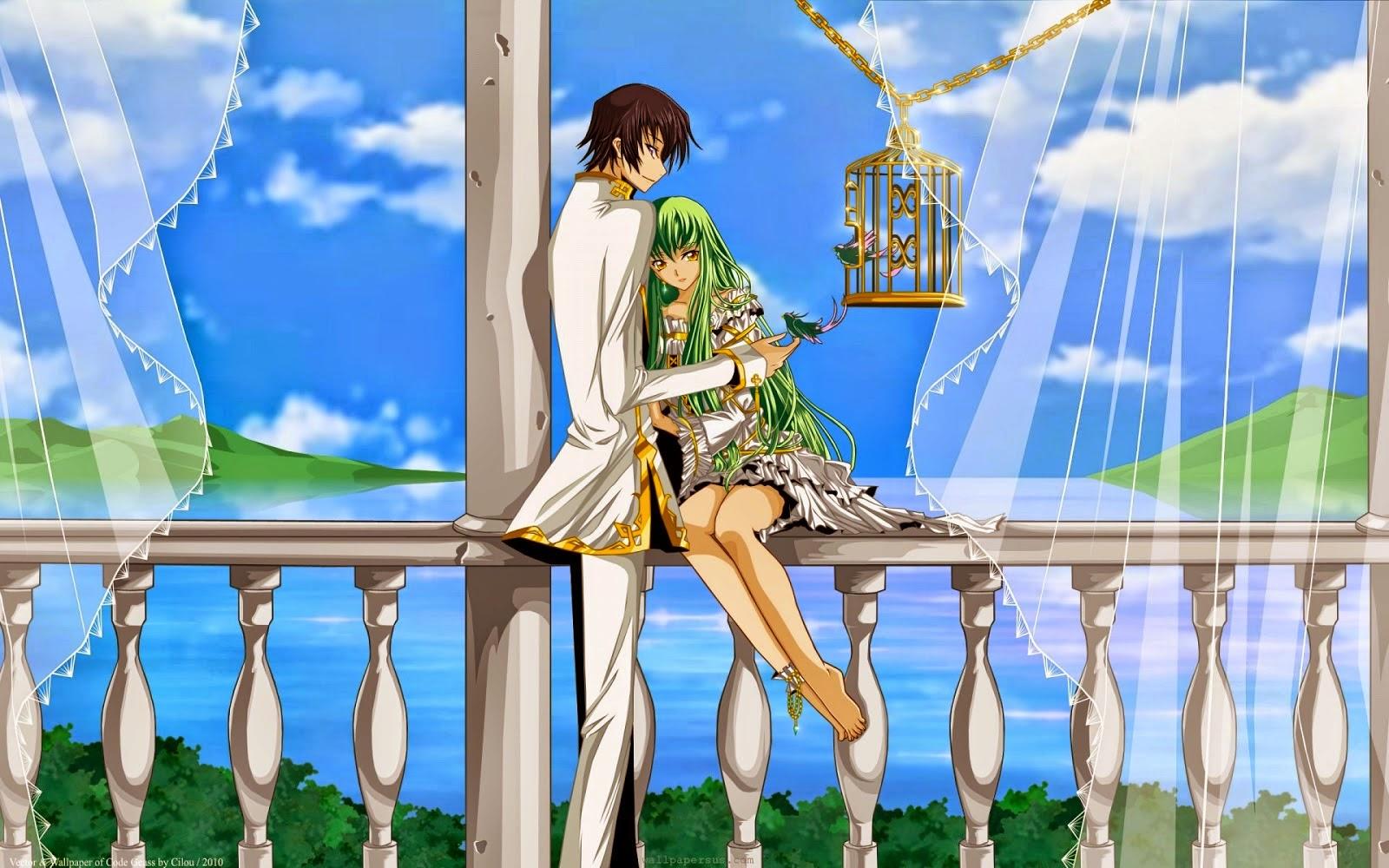 tải hình nền anime love cute