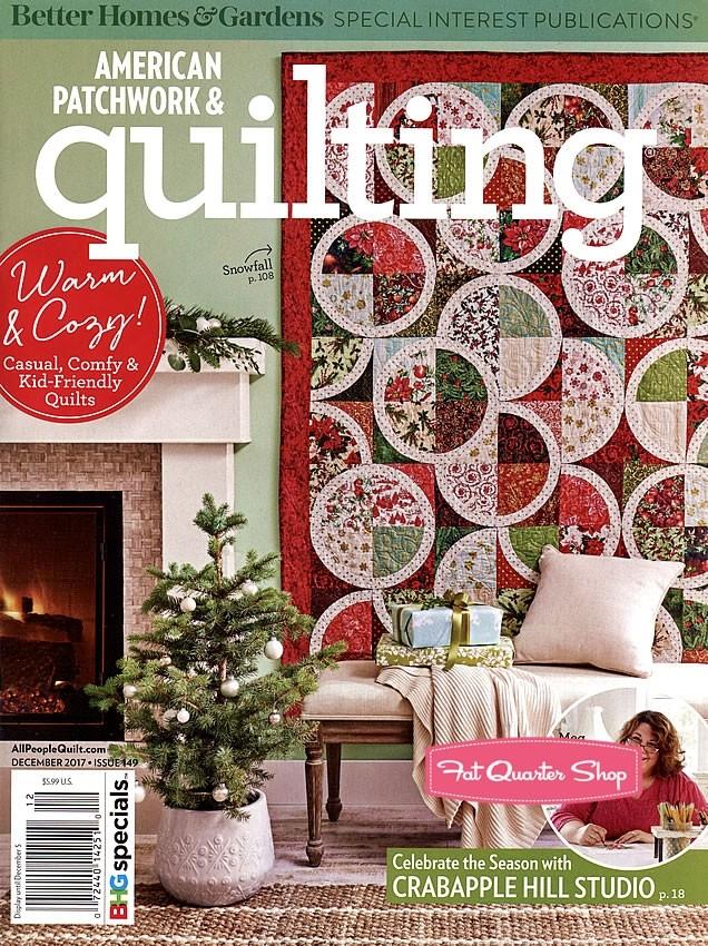 free shipping!  December 2017 APQ magazine