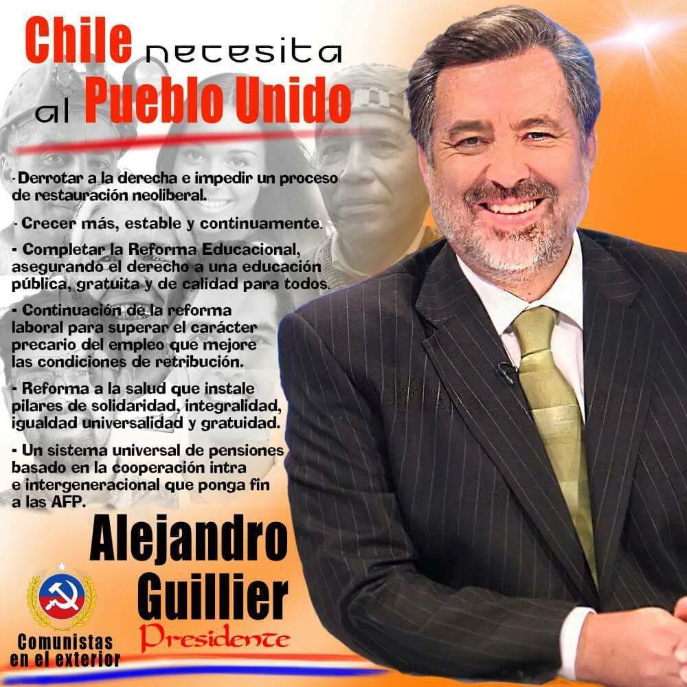 CHILE NECESITA ALPUEBLO UNIDO