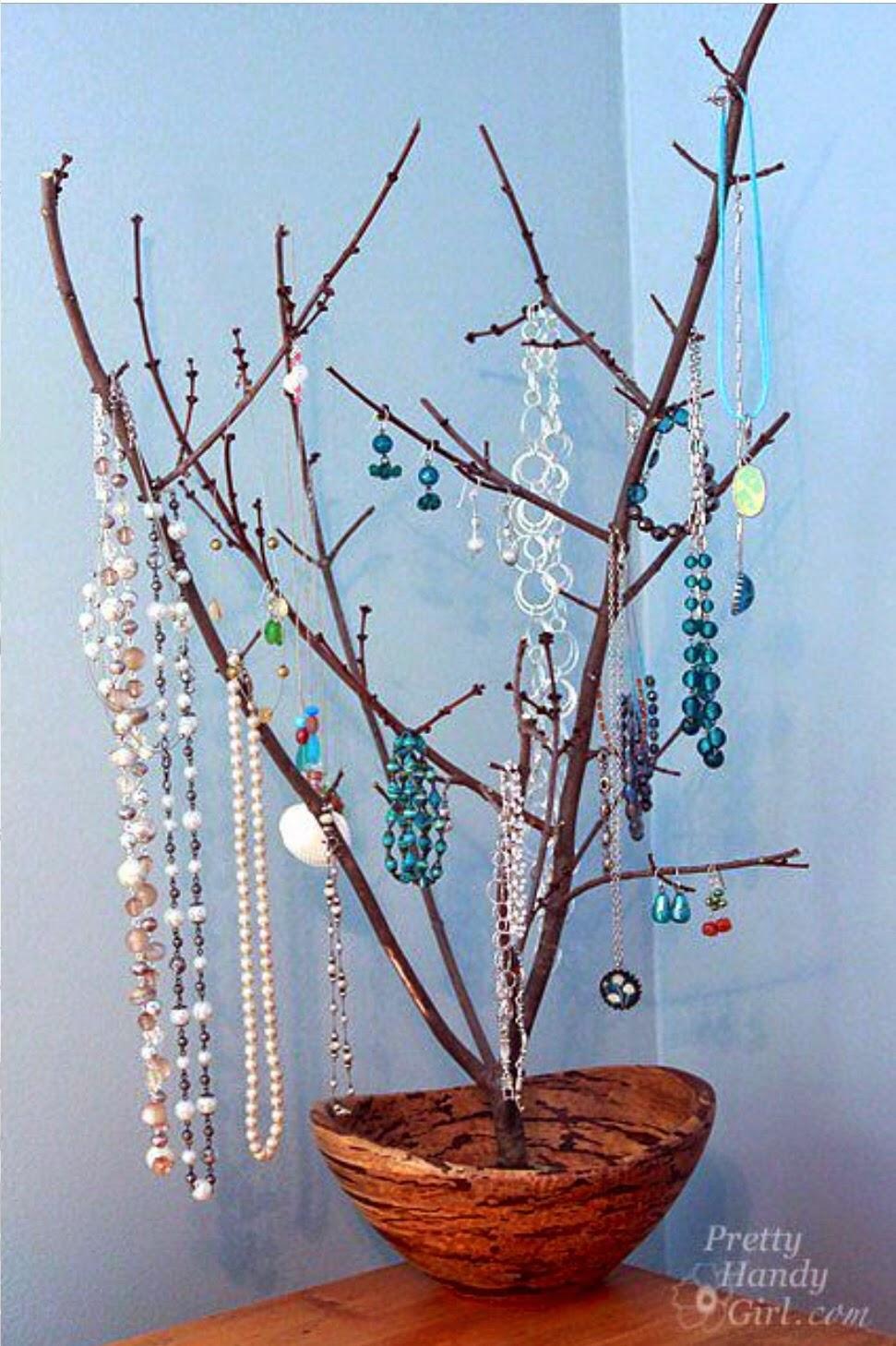 Дерево для браслетов своими руками