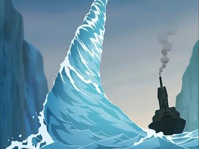 Avatar la leyenda de Aang libro agua capitulo 2