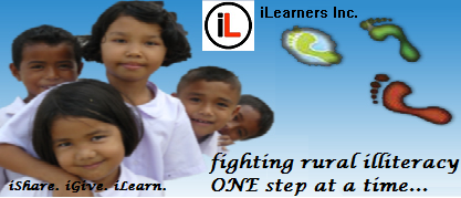 Help fight rural illiteracy NOW! Take action,and support iLearners Inc.