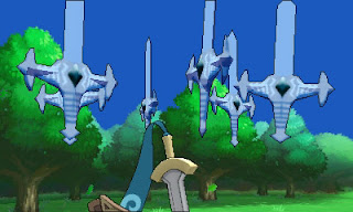 pok%C3%A9mon x and y screen 8 Pokémon X & Y (3DS)   Honedge Artwork, Screenshots, Video, & Announcement
