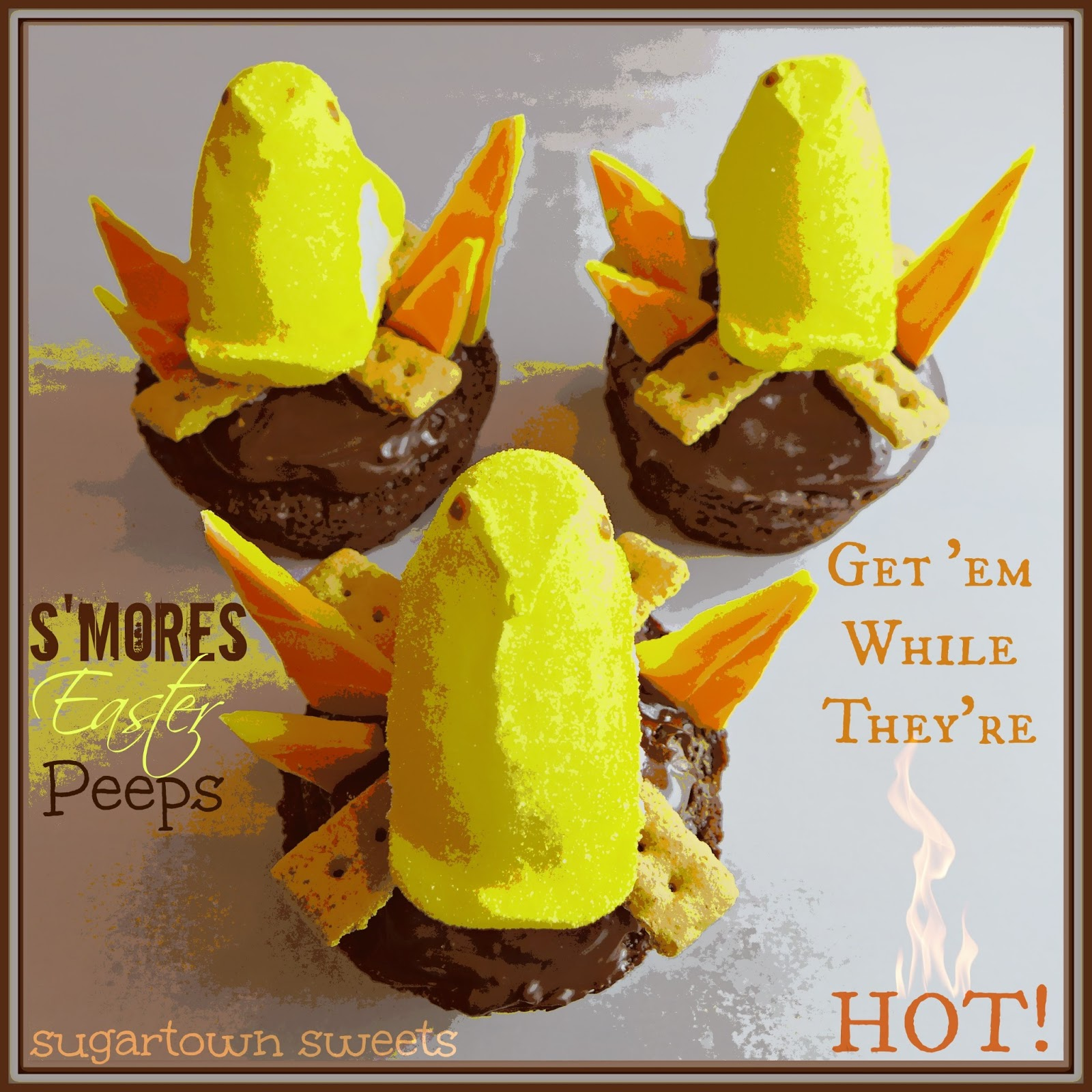 Sugartown Sweets: S'mores Easter Peeps!