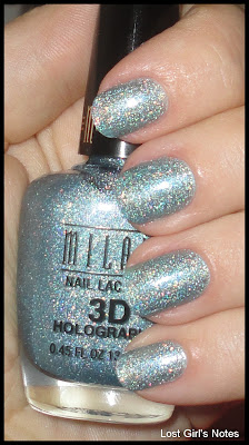 Milani 3d holographic cyberspace swatches