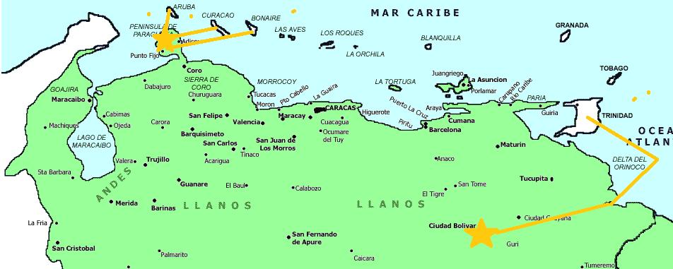 Resultado de imagen para bloqueo a venezuela 1902