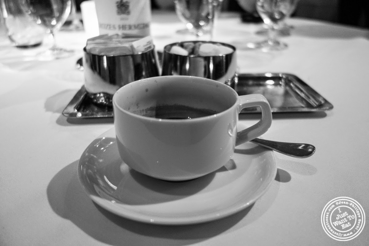 image of espresso at Dovetail in New York, NY