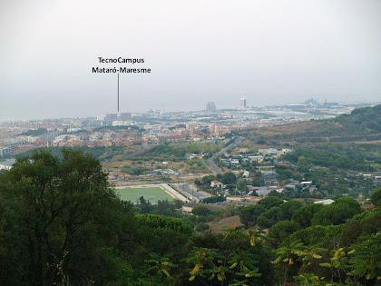 Mataró des del Camí de la Serra