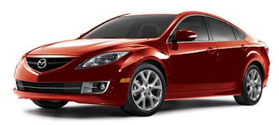 2013 Mazda 6 sedan red