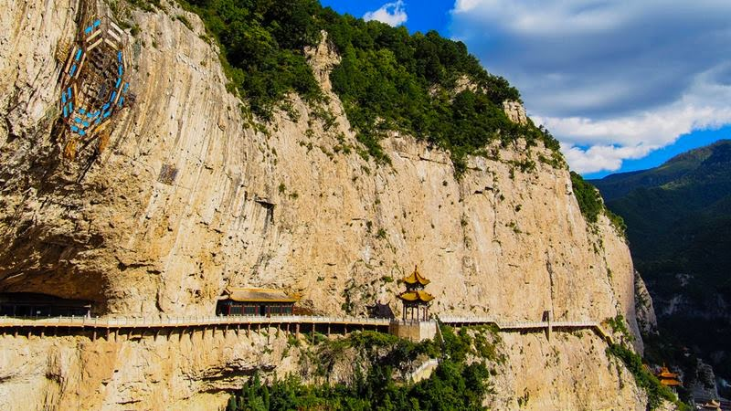 "Mian Shan ""Silky Mountain"" is noted for its natural scenery, especially for its cultural and religious relics. It is also the birthplace of Qingming Festival ""Grave Cleaning Day"", which is one of China's most important traditional festivals and items of intangible cultural heritage."