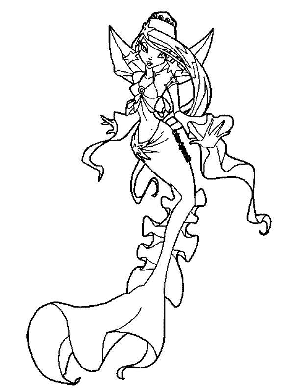 10 Malvorlagen Meerjungfrau zum Ausmalen