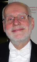 Ton Koopman fotografiado en Pamplona el 16 de abril de 2011 por el autor.
