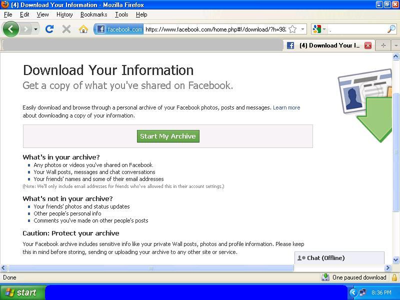 how to download video from facebook private message