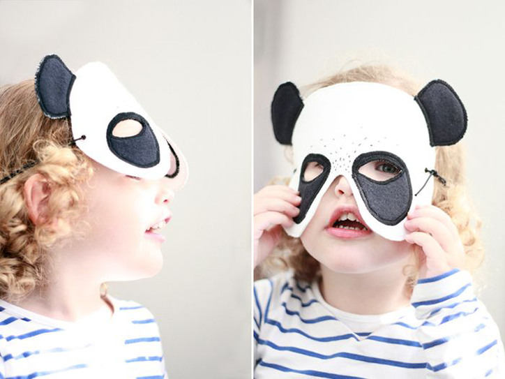 Party Animal bookhoucraftprojects panda mask