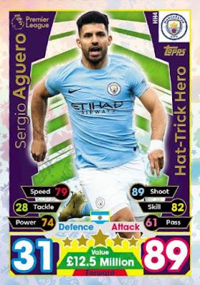 Match Attax Extra 2017//18 Harry Kane Hat-Trick Hero HH5 Como Nuevo