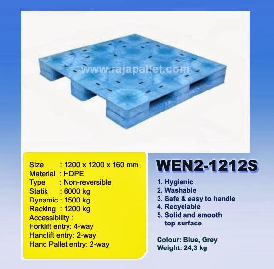 Pallet Plastik Murah WEN2-1212S