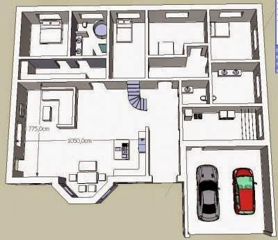 Amerikanische häuser grundriss Schlafzimmer blog