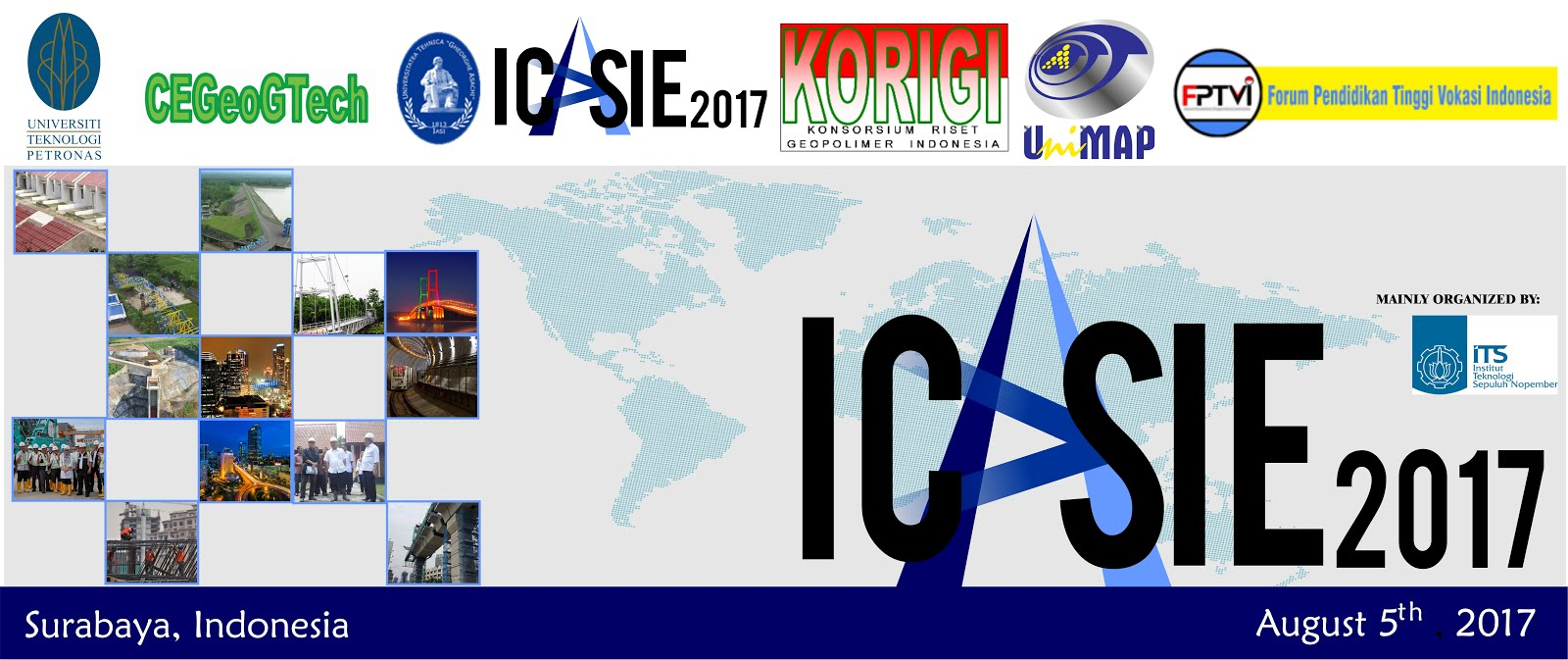 1st International Conference of Applied Science and Technology for Infrastructure Engineering 2017
