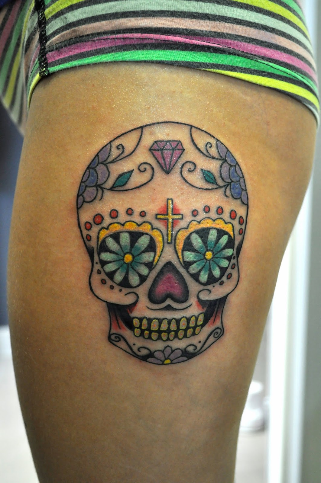Calaveras mexicanas tattoo