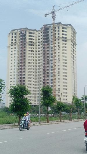 Chung cư Tecco Complex Thanh Trì chuẩn bị giao nhà