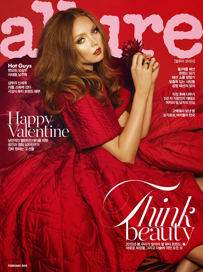 Model,  Actress: Lily Cole for Allure Korea