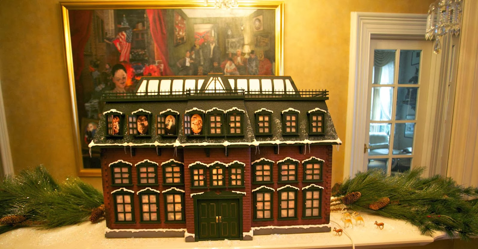 Chevy Chase's Christmas Vacation Advent House
