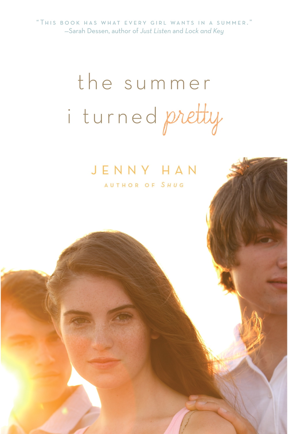 Pretty Book Cover Review ~ The book scout review summer i turned pretty by