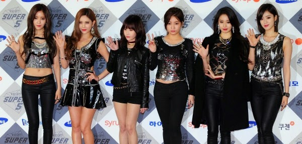 T-ara 2014 SBS Gayo Daejun Red Carpet