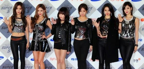 T-ara 2014 SBS Gayo Daejun Red Carpet