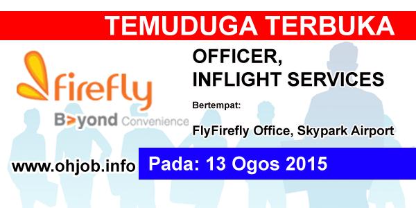 Jawatan Kerja Kosong Firefly Sdn Bhd logo www.ohjob.info ogos 2015