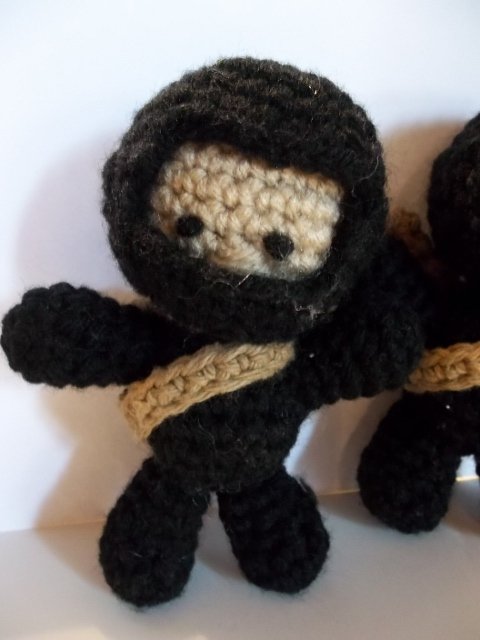 Ninja Amigurumi Free Pattern : Sheep of Delight: Free Crochet Amigurumi Pattern: Deadly ...