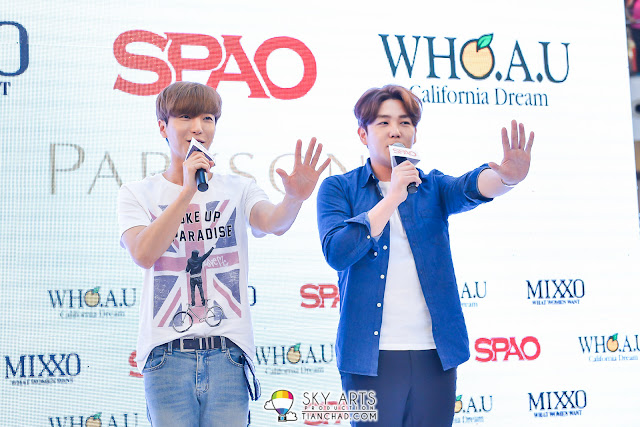 SPAO Malaysia Grand Opening with Super Junior Lee Teuk & Kang In @ Parkson Pavilion KL #SPAOMY