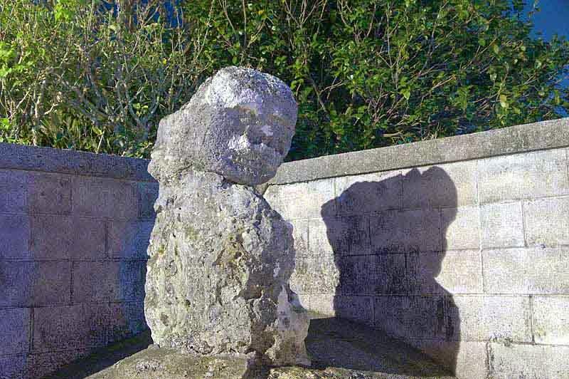 stone lion,Ishigantou,statue