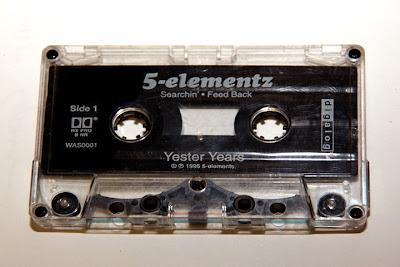 5-Elementz – Yester Years EP (Cassette) (1996) (320 kbps)
