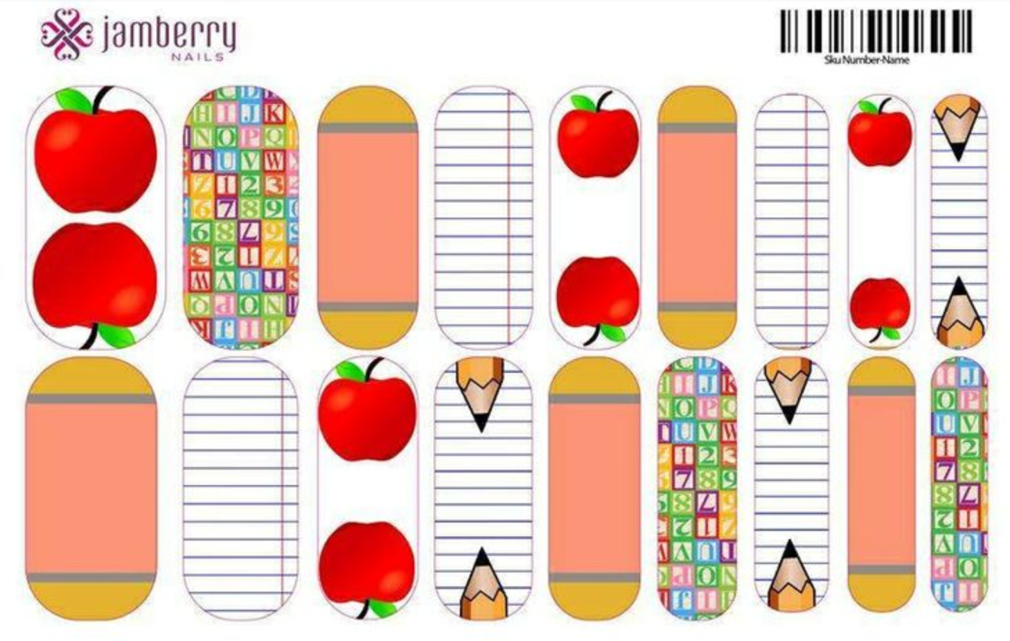 Jamberry Nail Wraps by Taylor