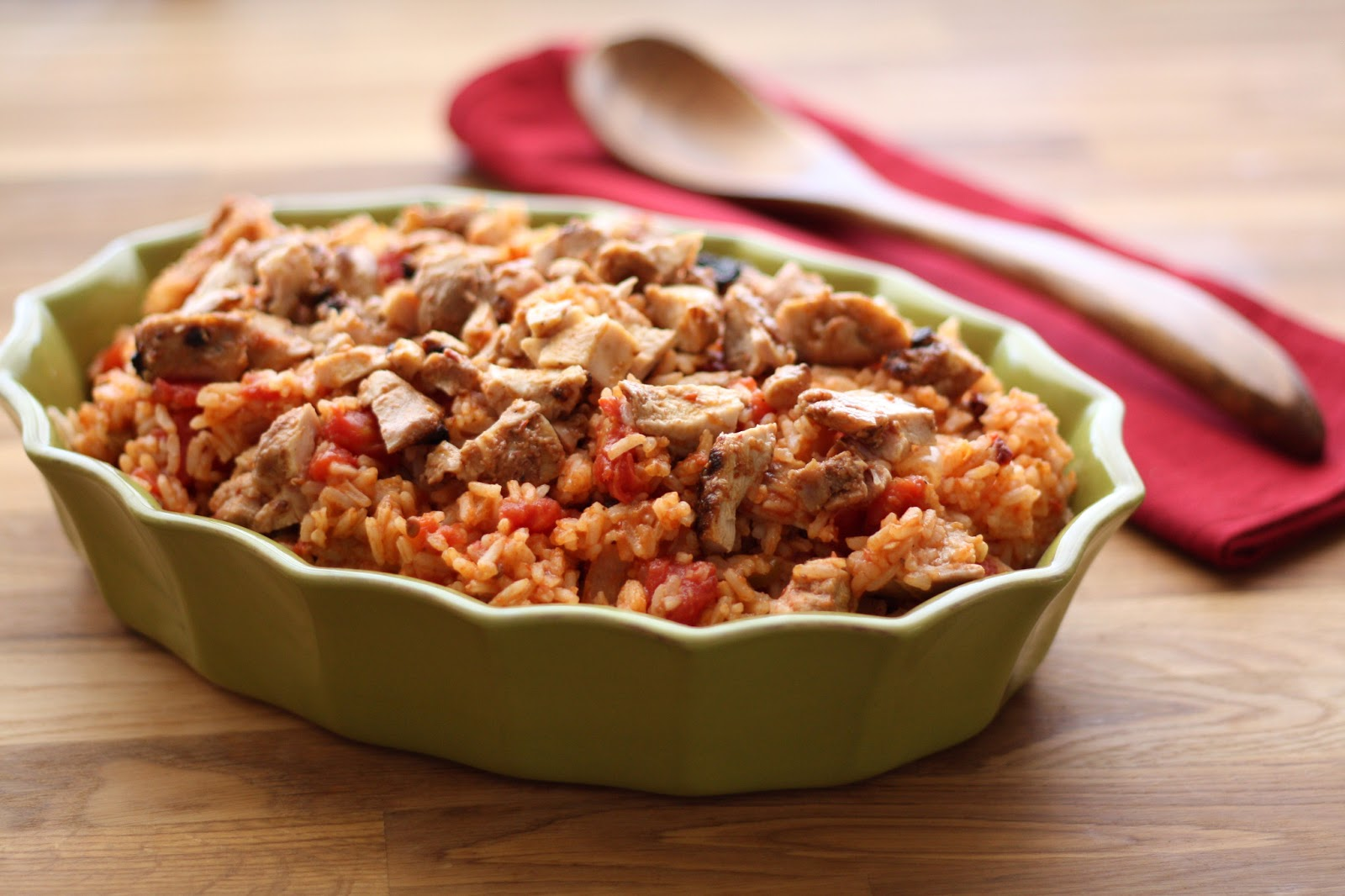 Barefeet In The Kitchen: Chipotle Chicken and Rice (my version of ...