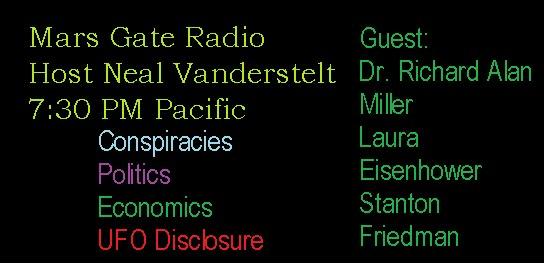 Mars Gate Radio hosted by Neal Vanderstelt