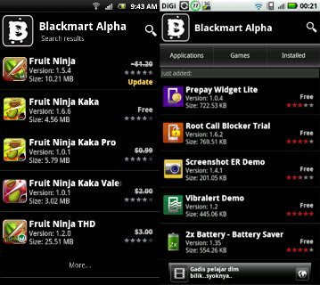 Android blackmarket alpha Apps