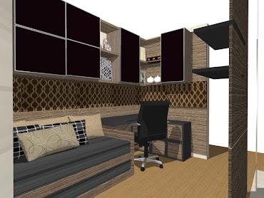 Projeto escritório - home office