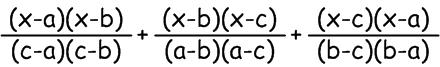 Квадратный трёхчлен