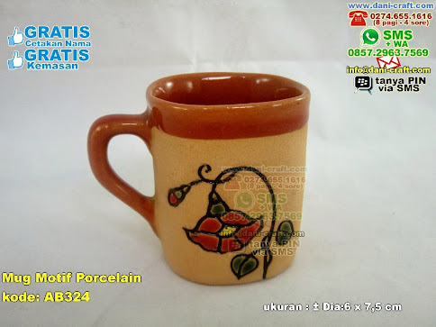 Mug Motif Porcelain