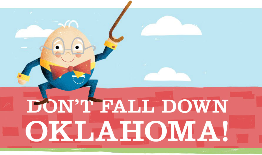 Don&#39;t Fall Down Oklahoma!
