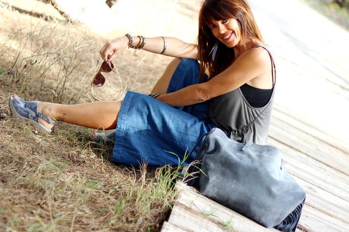 Culottes denim - outfit otoño 2015 - streetstyle - fashion blogger - Tendencias otoño 2015