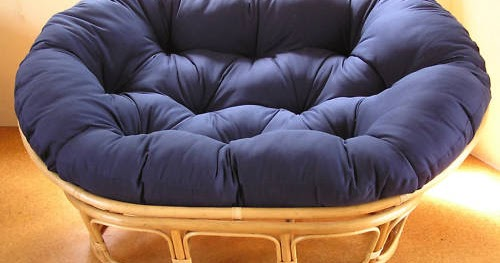 Double papasan cushion papasan chair cushions for sale for Double papasan chair cushion