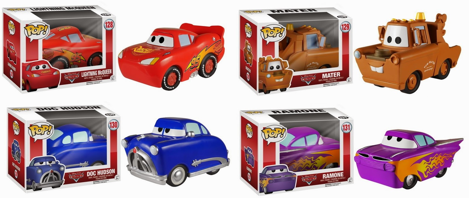 Funko Pop! Cars